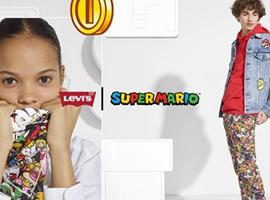 李维斯上线超级马里奥联名系列服饰