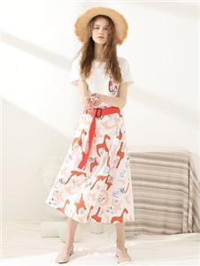 爱依莲女装夏款套装裙