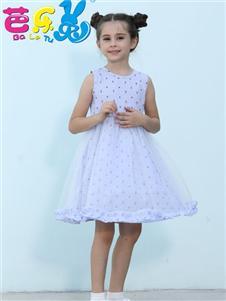 芭乐兔女童可爱蓬蓬裙