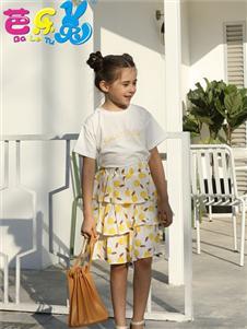 芭樂兔女童夏新款可愛半裙
