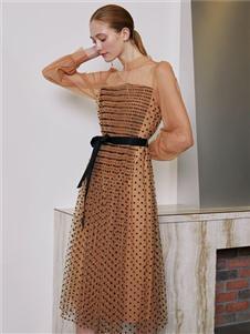 奧倫提2020優雅時尚連衣裙