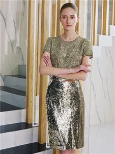 奥伦提女装2020夏时尚套装裙