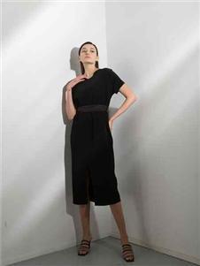 阿莱贝琳2020短袖连衣裙