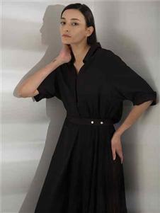 阿莱贝琳2020新款衬○衫裙