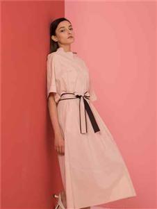 阿萊貝琳2020長款連衣裙