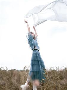 未知未覺春款连衣裙