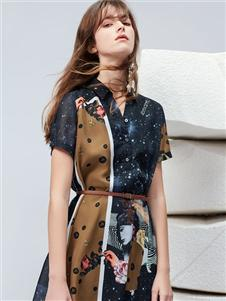 雪歌XG连衣裙