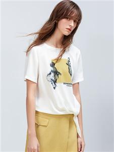 雪歌XG2020夏装T恤