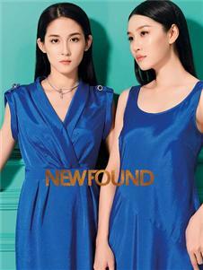 紐方2020夏款無袖連衣裙