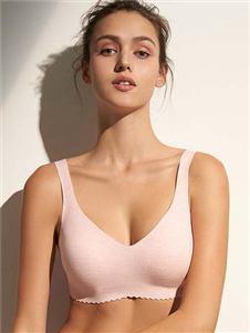 爱慕内衣爱慕2020粉色文胸
