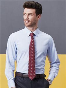 希努尔男装希努尔新款时尚纯色衬衫