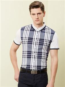 沙驰国际男装新款polo衫