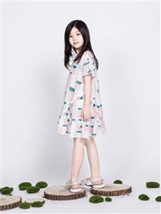 海贝童装童装海贝2020新款连衣裙