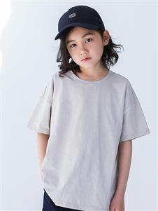 玛米玛卡童装玛米玛卡纯色气质T恤