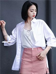 威丝曼白色衬衫