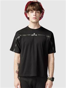 步森男装步森圆领T恤