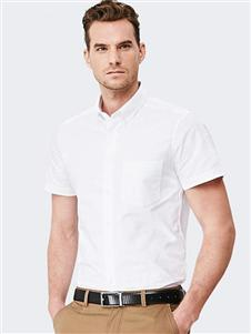 富绅夏款免烫衬衫