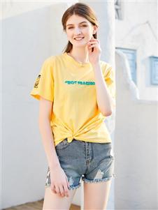 金蝶茜妮时尚气质T恤
