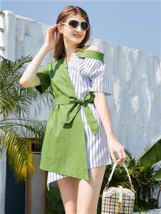 金蝶茜妮2020夏季新款连衣裙