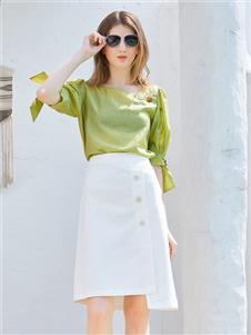 金蝶茜妮2020夏季新款半裙