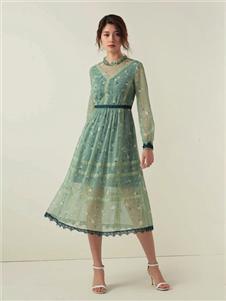 优美世界女装UMISKY优美世界气质连衣裙