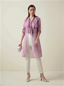 优美世界女装UMISKY优美世界紫色外套