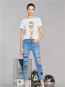 维斯提诺2020新款牛仔裤