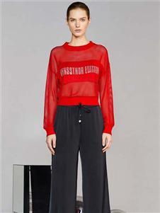 維斯提諾2020新款寬松上衣