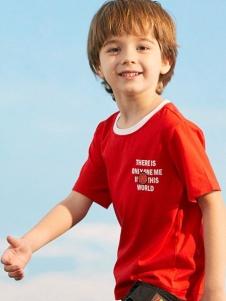 小猪班纳男童夏T恤