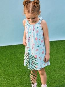 小猪班纳连衣裙女童新款