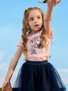 小猪班纳女童夏款套装