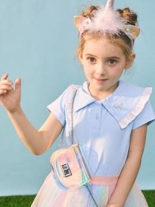 小猪班纳女童甜美裙子