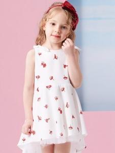小猪班纳女童连衣裙