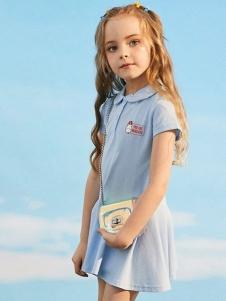 小猪班纳女童时尚小裙子