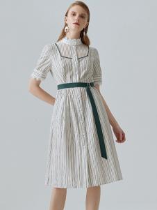 米岫女装米岫收腰衬衫裙