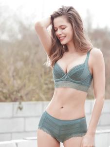 简奢一派时尚新款文胸套装