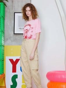 加末女装2020新款工装裤