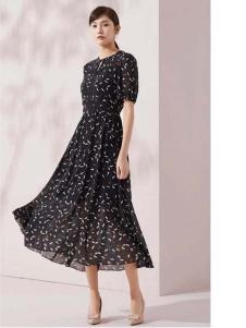 迪图长款连衣裙