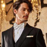 富绅V定制丨原来这才是男士西装满分穿搭指南!