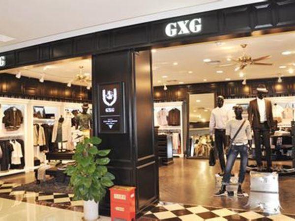 GXG男装店铺图品牌旗舰店店面