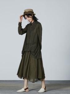 例外女装例外文艺套装裙