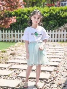 小嗨皮女童套装裙