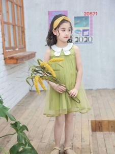 小嗨皮夏款韩版裙子