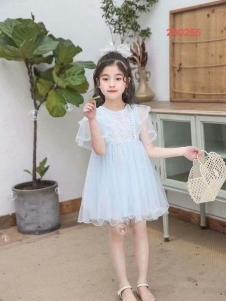 小嗨皮女童甜美裙子