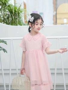 小嗨皮女童夏韩版裙子