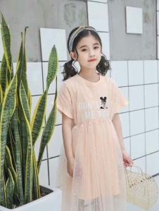 小嗨皮女童夏时尚裙子