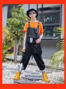 一度童装童装一度童装2020新款背带裤