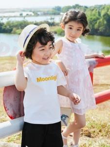小猪宾果白色时尚T恤