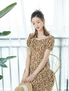 幻彩四季新款連衣裙