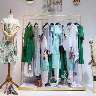 廣西女裝批發品牌折扣女裝貨源,大碼雪紡真絲連衣裙